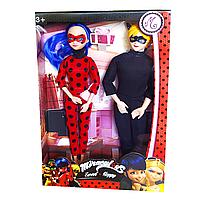"""Набор кукол """"Леди баг и Супер кот"""" - """"Lady Bug and Super Cat"""" scn"""