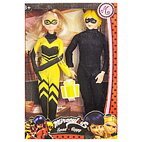"Набор кукол ""Леди пчела и Супер Кот"" - ""Lady Bug and Super Cat"" scn"