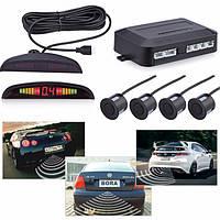 Парковочная система на 4 датчика парковки парктроник, Assistant Parking Sensor, парковочный радар