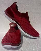 Женские летние кроссовки сетка Найк Аир. Слипоны женские в стиле Nike Air Free Run 3.0. Размер 38, 40