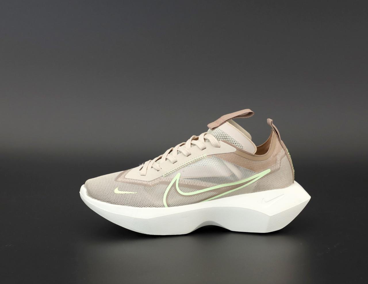 Женские кроссовки Nike Vista Lite в стиле найк виста КОРИЧНЕВЫЕ (Реплика ААА+)