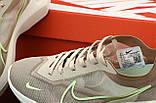 Женские кроссовки Nike Vista Lite в стиле найк виста КОРИЧНЕВЫЕ (Реплика ААА+), фото 6