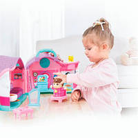 Музыкальная игрушка Кукольный домик Эммы, игрушки для девочек, раннее развитие, Hola Toys