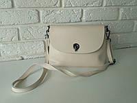 """Жіноча шкіряна сумка """"Ненсі White"""", фото 1"""