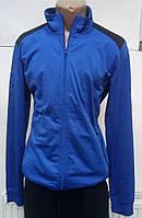Германия. Спортивная кофта мужская синяя фирмы Crivit. Мастерка мужская. Размер M