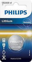Батарейка Philips Lithium CR 2430