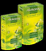 Чай Зеленый Цейлонский Листовой Alokozay 100гр.