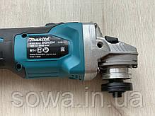 Болгарка аккумуляторная бесщеточная Makita DGA554, фото 3