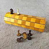 Шахматы деревянные сувенирные 40х40 см