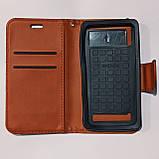 Универсальный чехол книжка для телефона 5,0-5,2 дюймов Коричневый, фото 2
