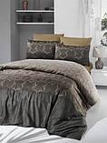 Комплект постельного белья Victoria Sateen Pandora Brown 200х220 (2200000551719), фото 3