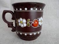 """Чaшка чайна обрізна  """"Кераміка Вишенька"""" ручної роботи"""