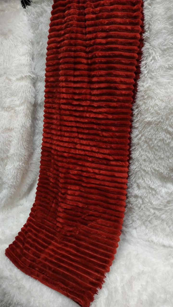 Плед микрофибра полоска Colorful