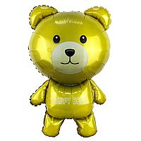 Фольгированный шар 35' Китай Happy Bear, 90 см