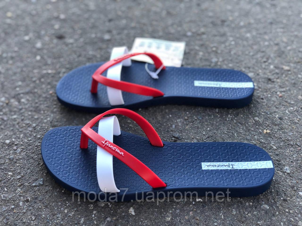 Вьетнамки женские IPANEMA Kirei Fem 81805 Blue/Red/White