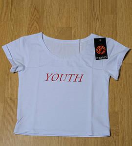 "Топ женский ""Youth"", размер: S  (S007), Белый"