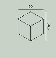 3д панель для стіни Orac Decor W105 Rombus
