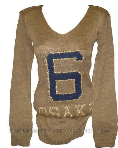 Женский свитер модный