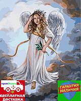 Картина по номерам Милый ангел 40*50см Brushme GX3231 Раскраска по цифрам
