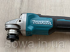 Болгарка аккумуляторная Makita DGA554 / 18V, фото 3