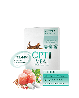 Влажный корм Optimeal Оптимил для котят с курицей, 22х85 г
