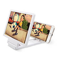 3D Увеличитель экрана для смартфона - белый