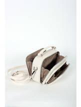 Сумка кросс-боди David Jones 3966Т бежевого цвета, фото 3