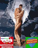 Картина по номерам Ты мой ангел Ти мій янгол 40*50см KHO4665 Раскраска по цифрам