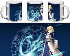 Кружка чашка  Fate: Stay Night - Сэйбер