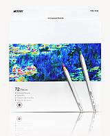 Карандаши цветные Marco Raffine 72 цвета 7100-72CB