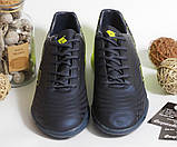 0393 Футбольні бутси жовто-синього кольору 41 розмір - 26,5 см по устілці, фото 5