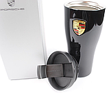 Термокружка Porsche High-end Thermal Beaker, Black, артикул WAP0500630H, фото 3