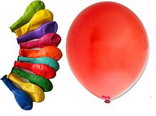 Надувные шарики круглые 26 см диаметр 10 шт в пачке