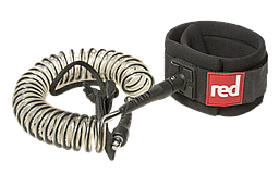 Лиш Red Flat Water Coiled Leash