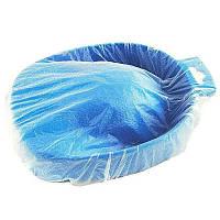 Чехол для маникюрной ванночки 35х35 см, пачка 25 шт., цвет прозрачный