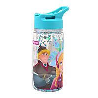 """Бутылка для воды 1Вересня с блестками """"Frozen"""", 280 мл"""
