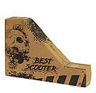 Самокат трюковый 2-х колесный Best Scooter алюминиевый диск, фото 7