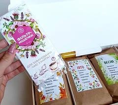 Подарочный набор вкусного чая 4 сезона, НатуральныйКарпатский травянойфиточай, фото 2
