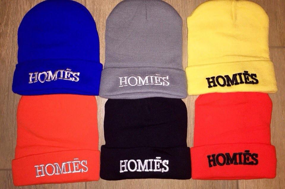 Шапка HOMIES бренд