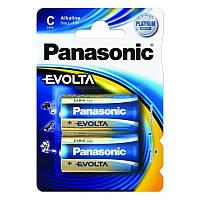 Батарейка Panasonic Evolta LR14 Alkaline, 2 шт.