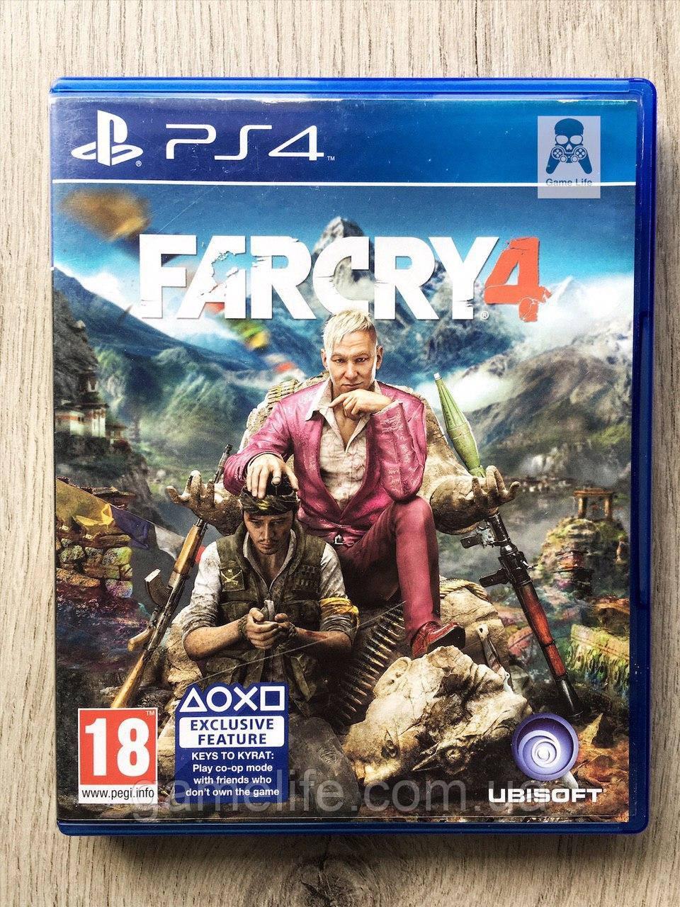 Far Cry 4 (рус.) (б/у) PS4