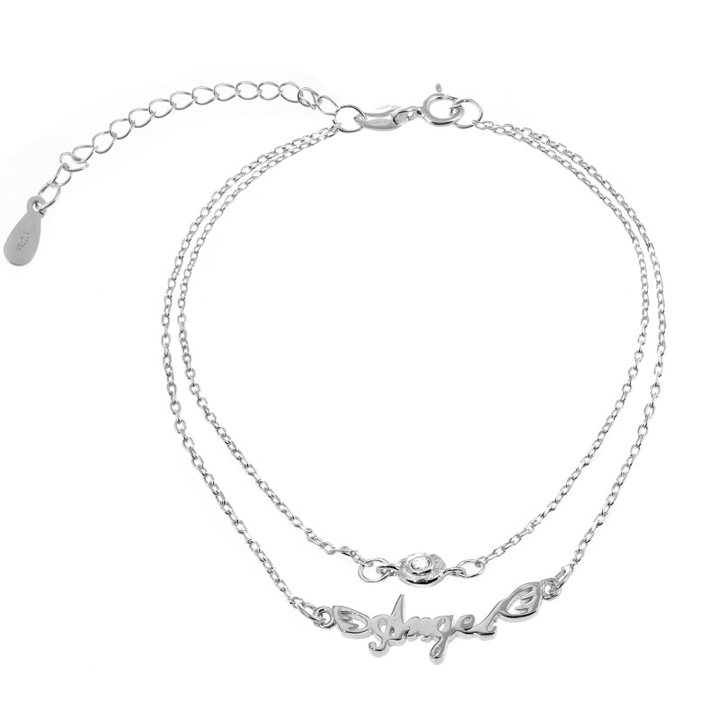 "Срібний браслет ""Angel"" Б2Ф/818"