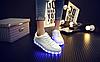 Детские светящиеся LED кроссовки с подсветкой мигающие USB зарядка, [ 38 39 40 41 ], фото 8