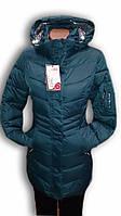 Пальто женское горнолыжное WHS. Dark Green. 6032, фото 1