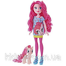 Кукла и Пони Пинки Пай Эквестрии My Little Pony Hasbro E5659