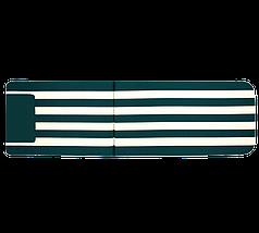 Матрац  на шезлонг Myra зелений в смужку