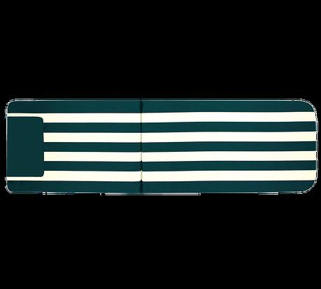 Матрац Papatya на шезлонг Myra зелений у смужку, фото 2