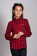 Детская и подростковая Клетчатая рубашка от бренда Polla Fashion