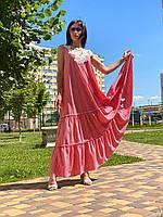 Женское хлопковое платье Poliit 8727
