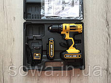 Шуруповерт - дрель Euro Craft CD216 : 18V : 2 A.h, фото 2